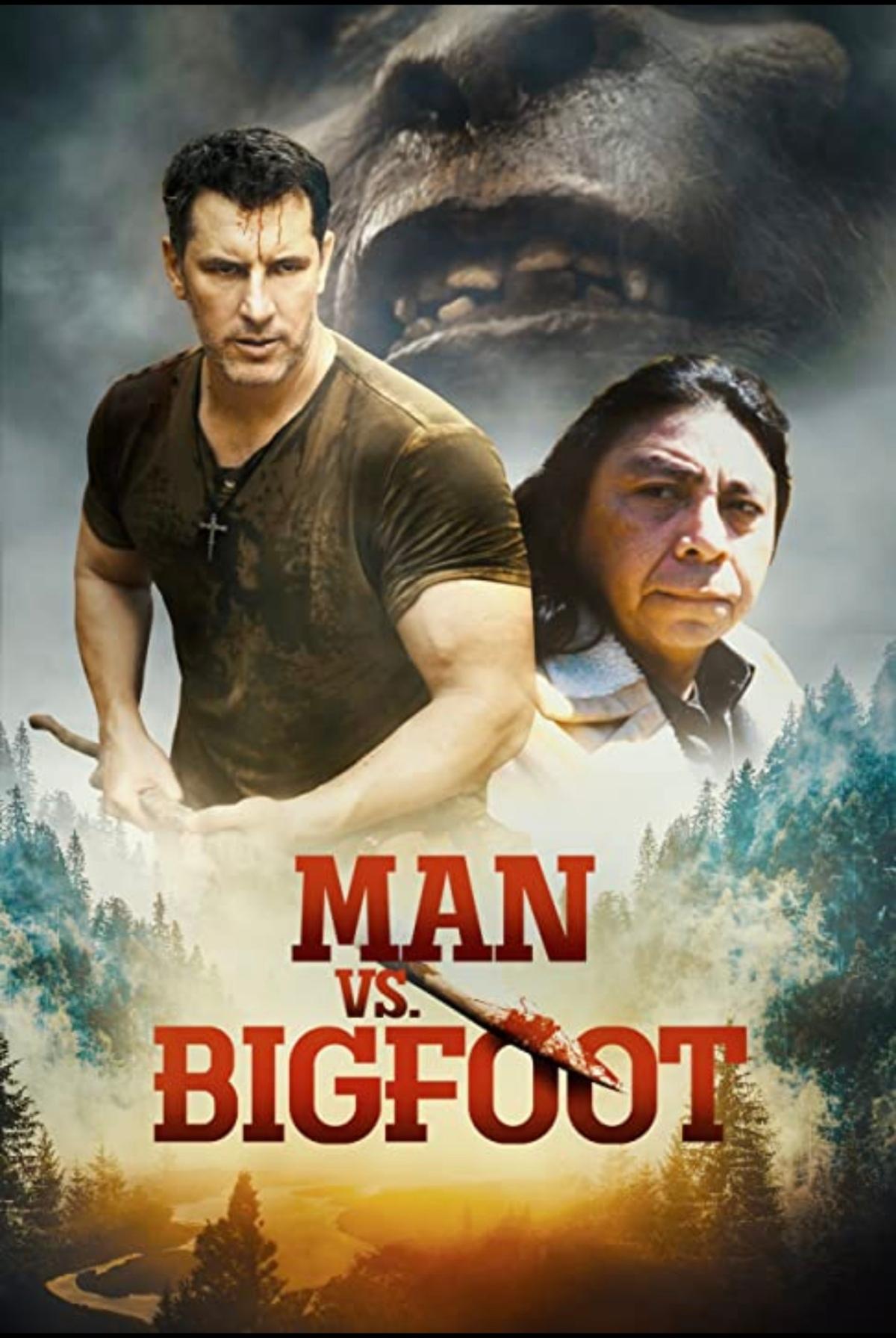 Man VS. Bigfoot…